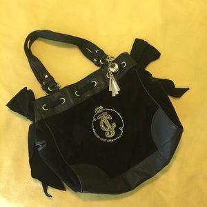 Juice Couture black shoulder bag